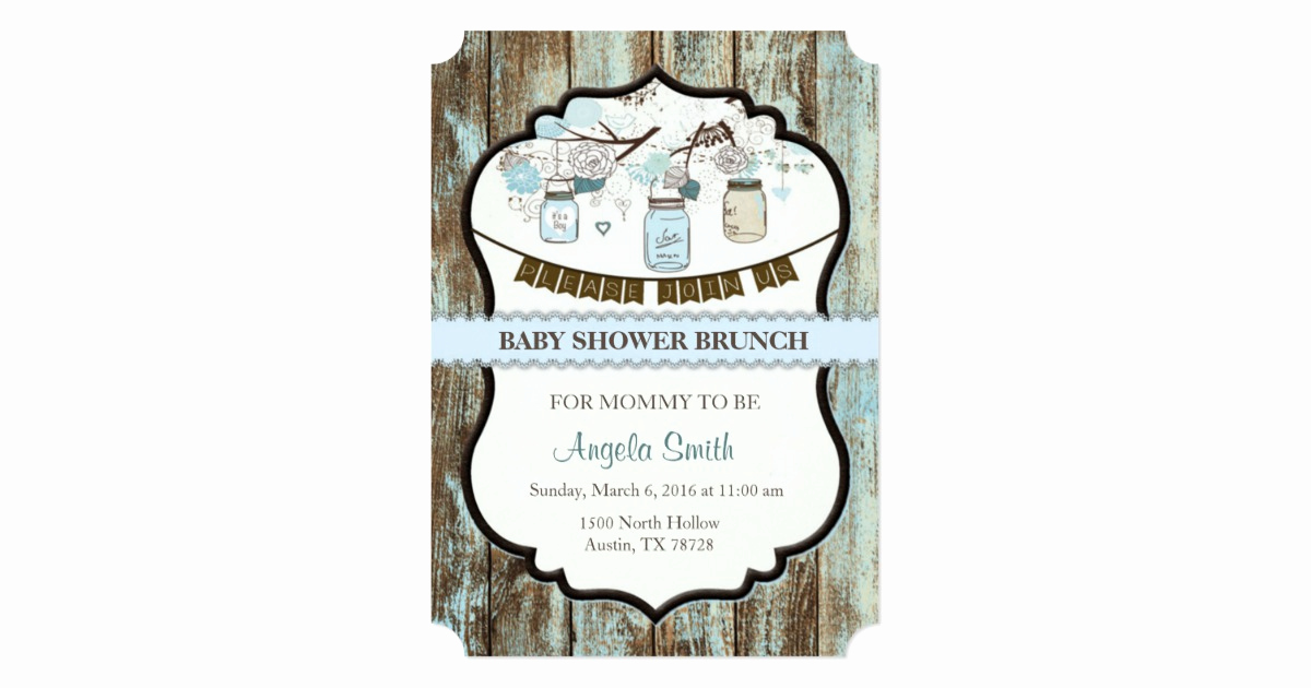 Baby Shower Brunch Invitation Unique Baby Shower Brunch Invitation