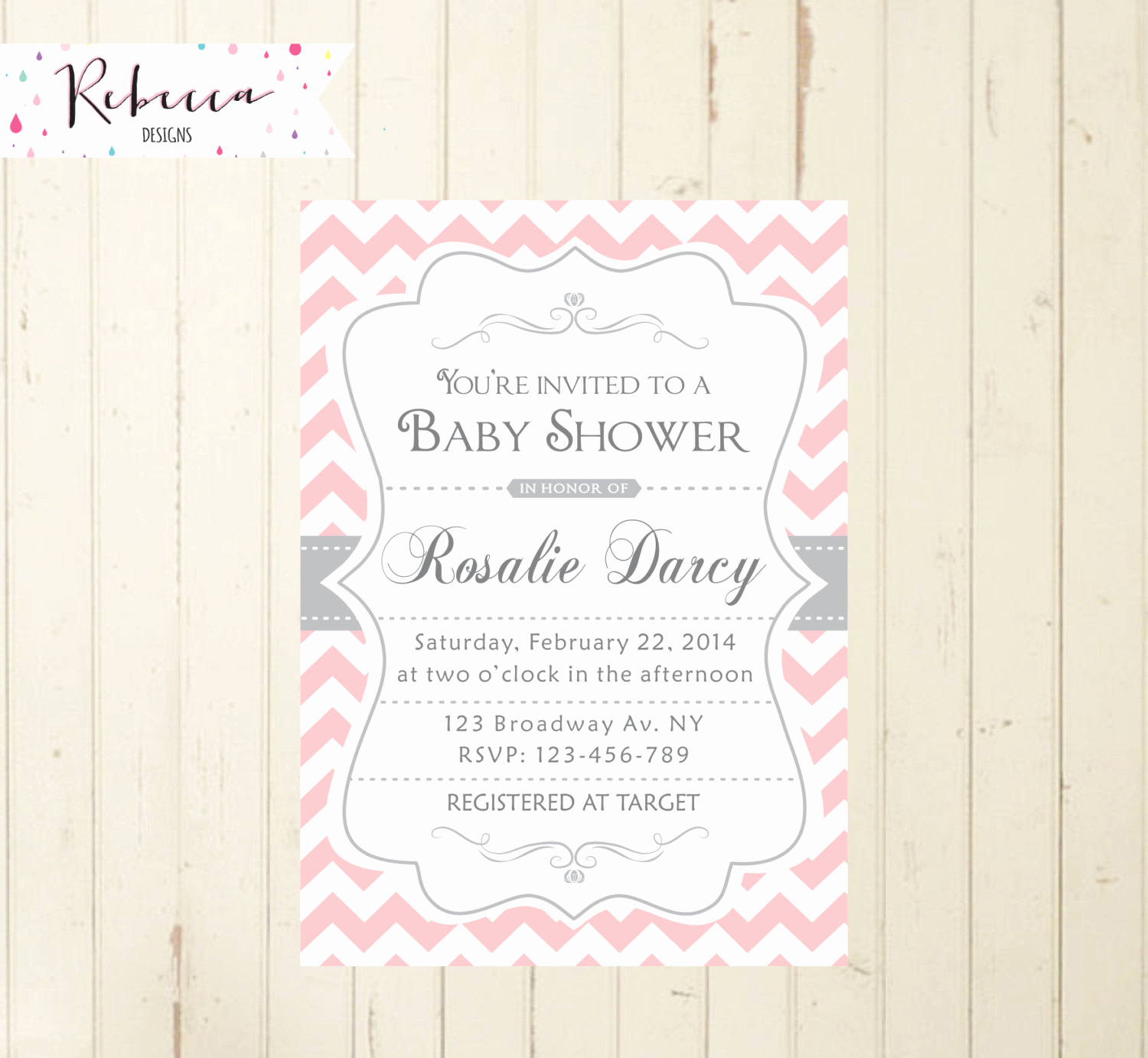 Baby Shower Brunch Invitation Wording Fresh Baby Shower Brunch Invitation Pink Baby Shower Invitation Pink