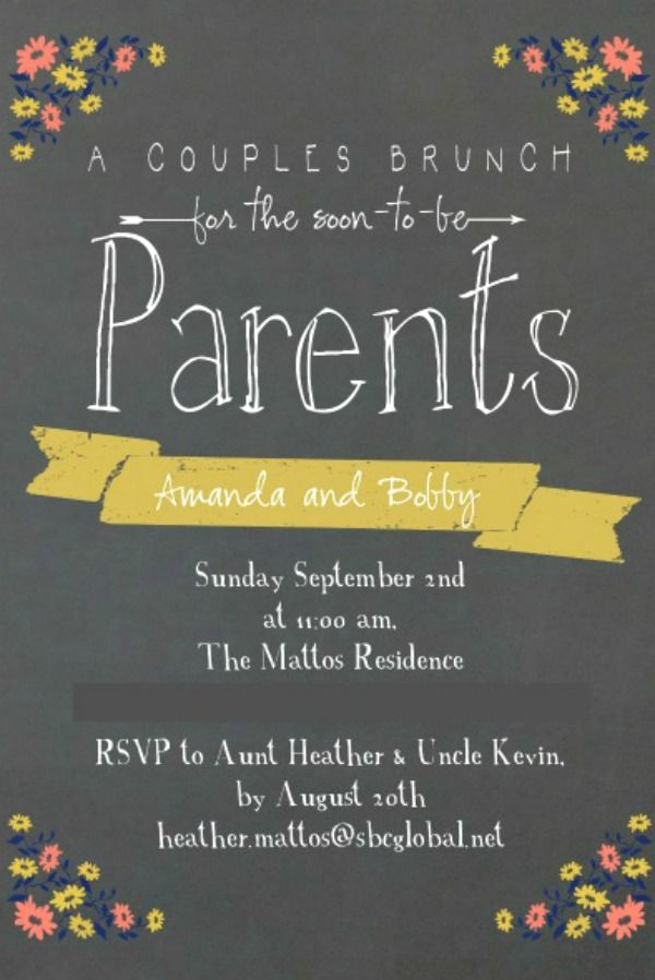 Baby Shower Brunch Invitation Wording New Best 25 Couples Baby Showers Ideas On Pinterest