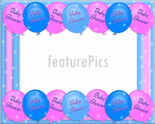 Baby Shower Invitation Border Best Of Baby Shower Invitation Border Illustration