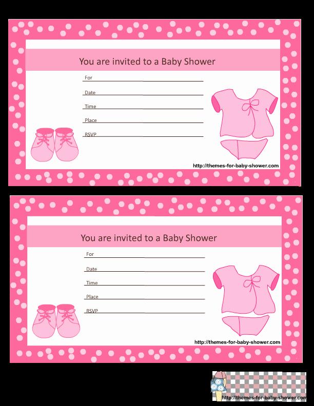 Baby Shower Invitation Borders Fresh Baby Girl Gingham Frame Printable Borders Snowjet Co