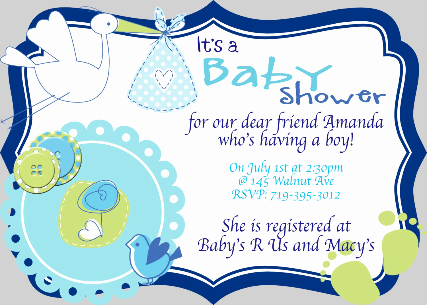 Baby Shower Invitation Card Ideas Elegant Free Baby Shower Boy Download Free Clip Art Free