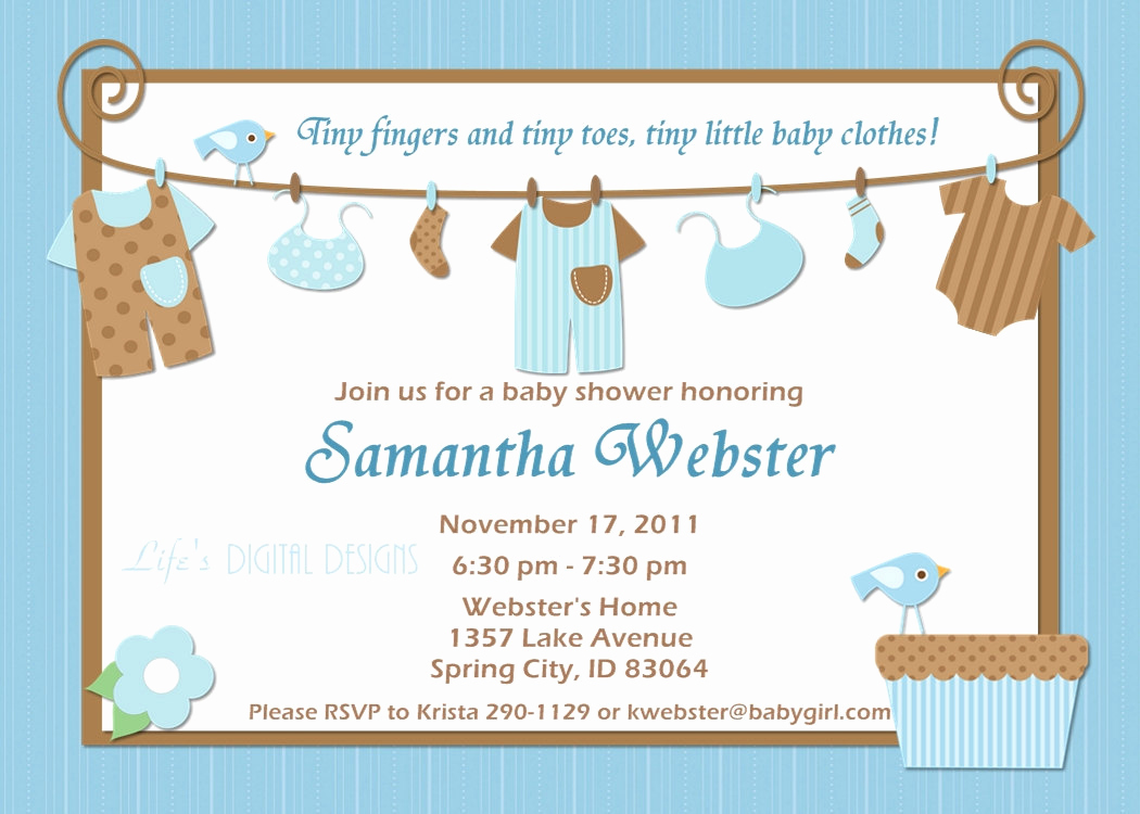 Baby Shower Invitation Card Ideas Lovely Ideas for Boys Baby Shower Invitations