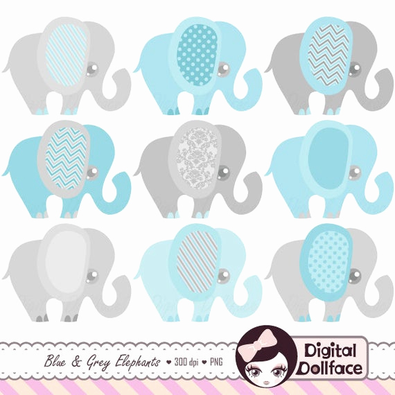 Baby Shower Invitation Clip Art Beautiful Blue Elephant Baby Shower Invitation Clipart Baby Boy Clip