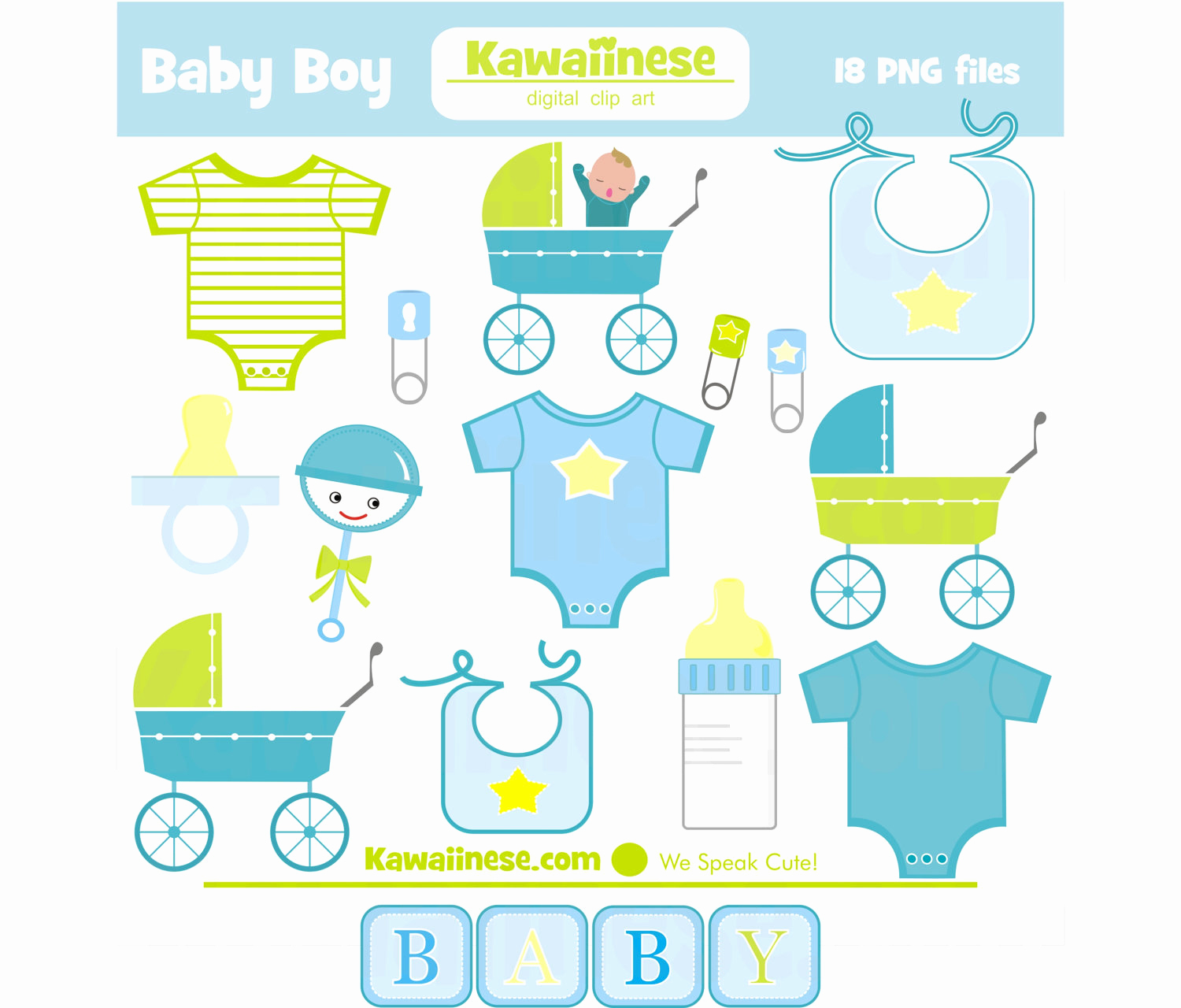 Baby Shower Invitation Clip Art Inspirational Baby Boy Clipart Digital Clip Art Baby Shower Invitations