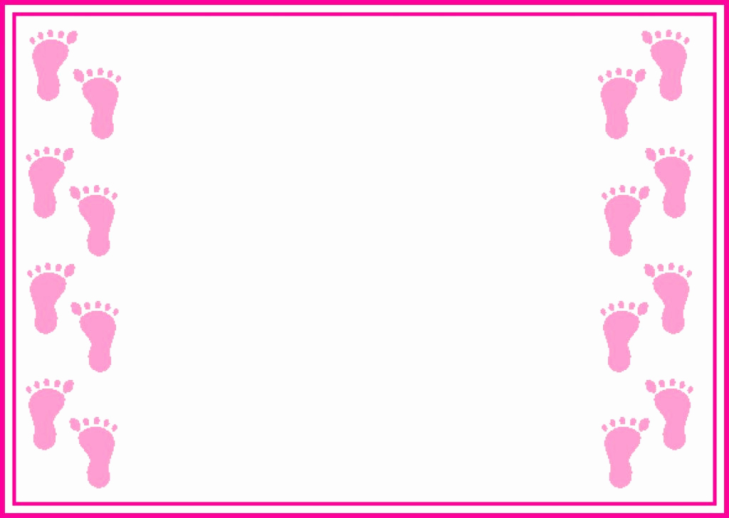 Baby Shower Invitation Clip Art Lovely Baby Border Clipart