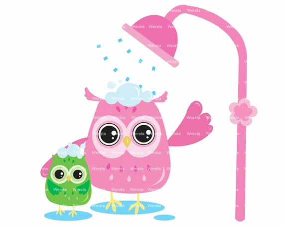 Baby Shower Invitation Clip Art Luxury Items Similar to Owl Shower Clipart Clip Art Owl Shower