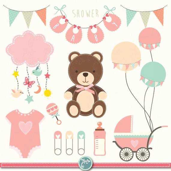 "Baby Shower Invitation Clipart Elegant Baby Shower Clipart ""baby Shower"" Clip Art Birth"