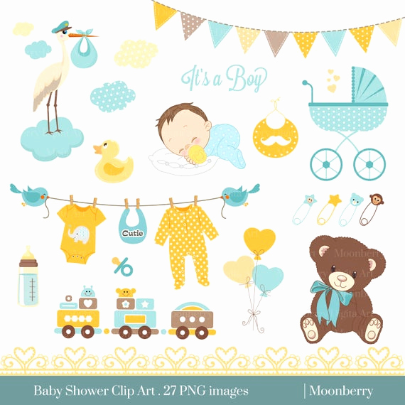 Baby Shower Invitation Clipart Lovely Baby Shower Clip Art Baby Shower Clip Art Baby