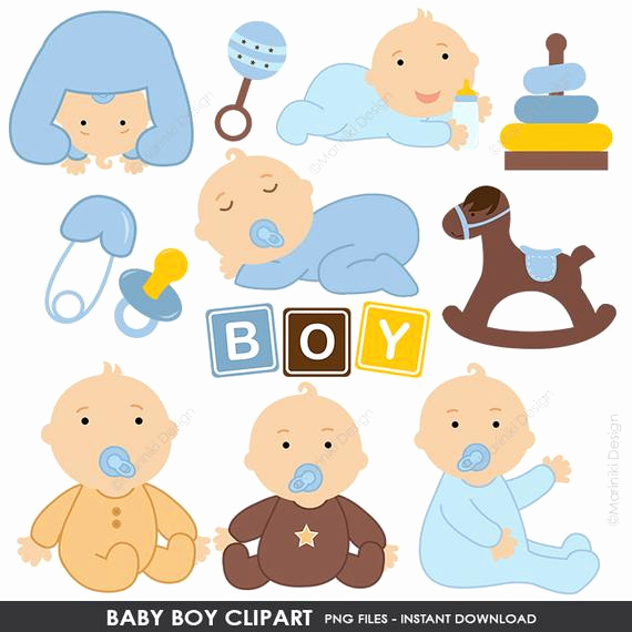 Baby Shower Invitation Clipart Unique Baby Clipart Baby Shower Clipart Baby Boy Clip Art Blue