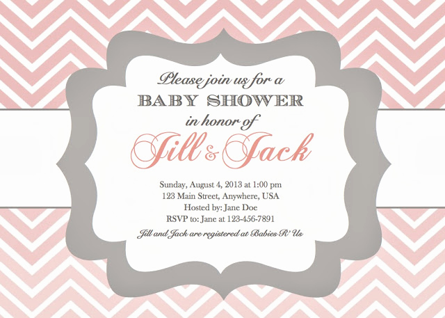 Baby Shower Invitation Example Awesome In the Chou S Nest Girl Baby Shower Invitations