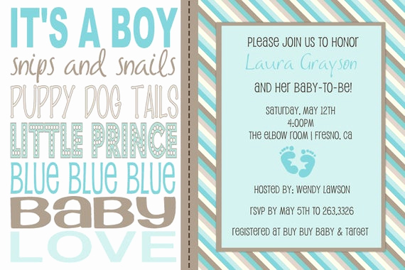 Baby Shower Invitation Example Beautiful Items Similar to Baby Boy Wording Shower Invitation On Etsy