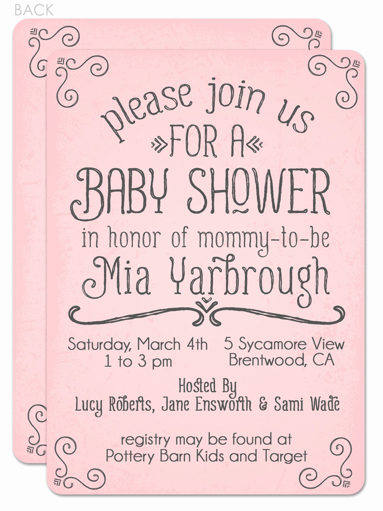 Baby Shower Invitation Example Inspirational Wording Baby Shower Invitations
