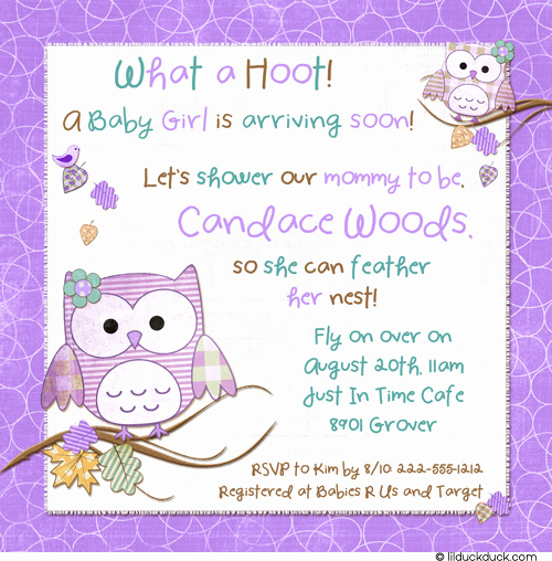 Baby Shower Invitation Example Unique Make Baby Shower Invitation Wordings so Special