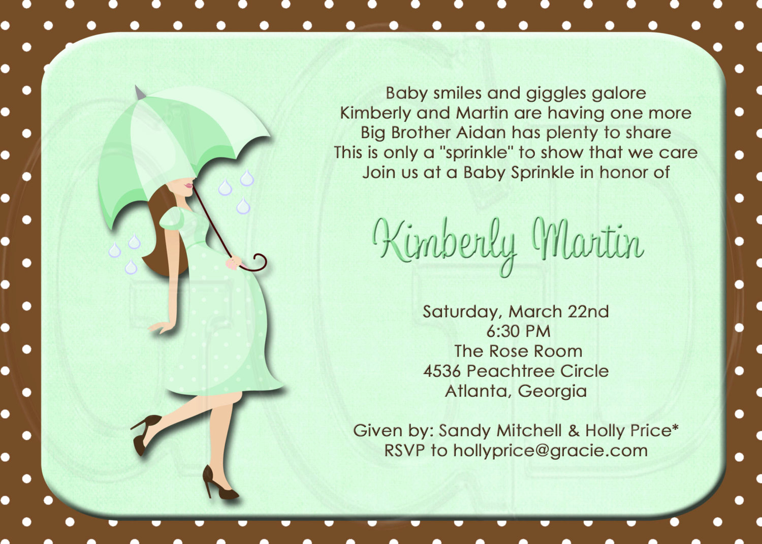 Baby Shower Invitation Example Unique Silhouette Baby Shower or Sprinkle for 2nd or 3rd Child