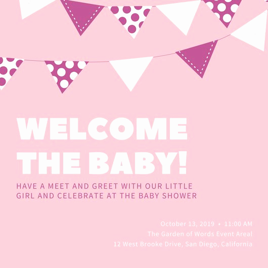 Baby Shower Invitation Examples Best Of Customize 832 Baby Shower Invitation Templates Online Canva