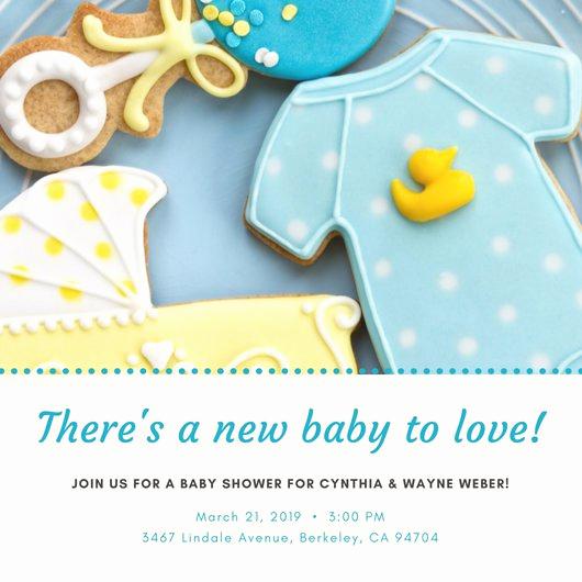 Baby Shower Invitation Examples Elegant Customize 832 Baby Shower Invitation Templates Online Canva