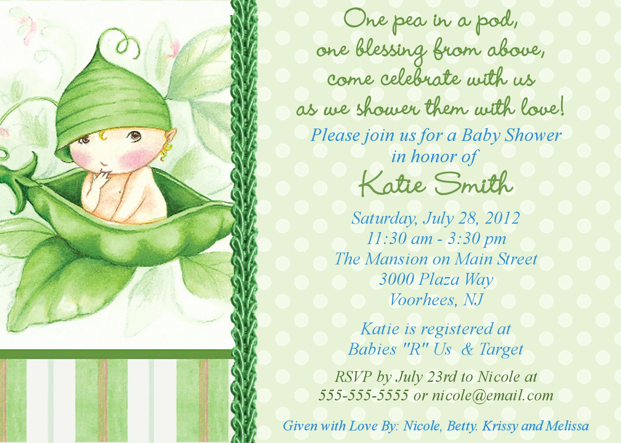 Baby Shower Invitation Examples Inspirational Free Line Baby Shower Invitations