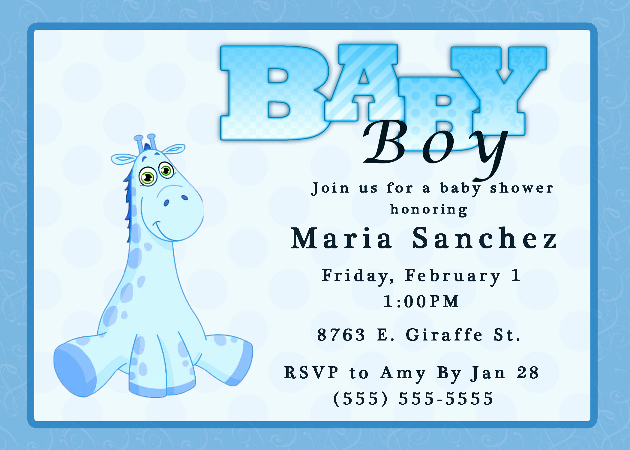 Baby Shower Invitation Examples Lovely Baby Shower Invitations