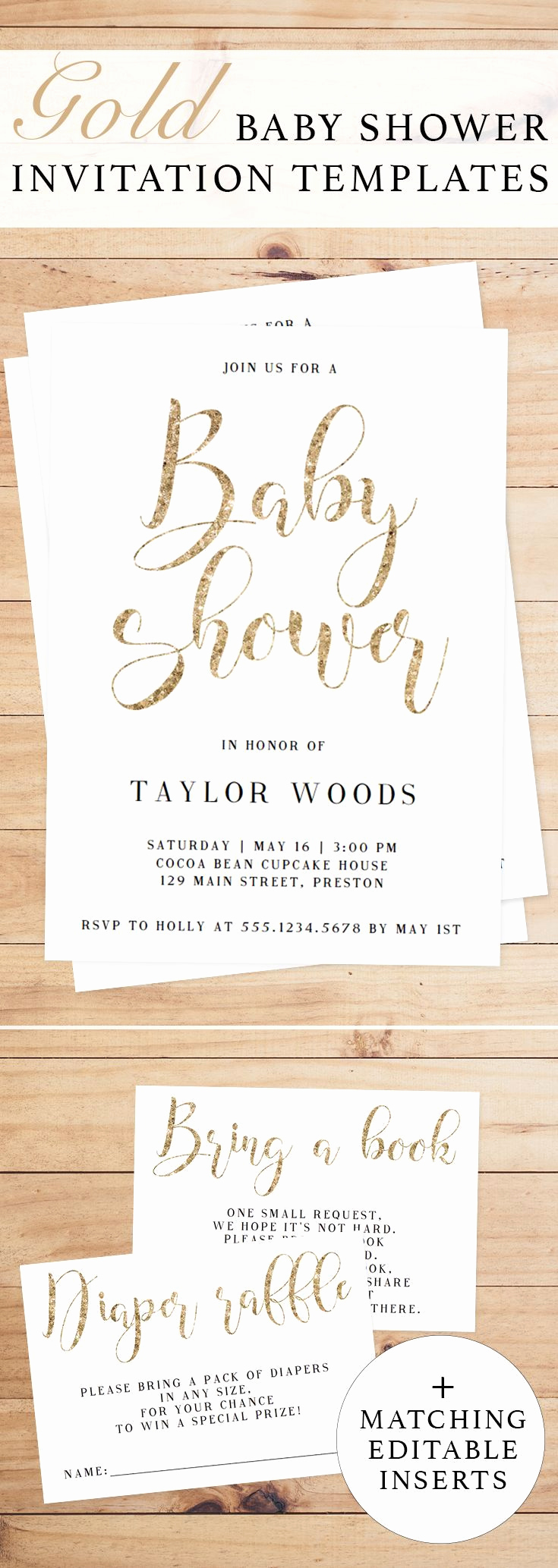 Baby Shower Invitation Examples Lovely Best 25 Baby Shower Templates Ideas On Pinterest