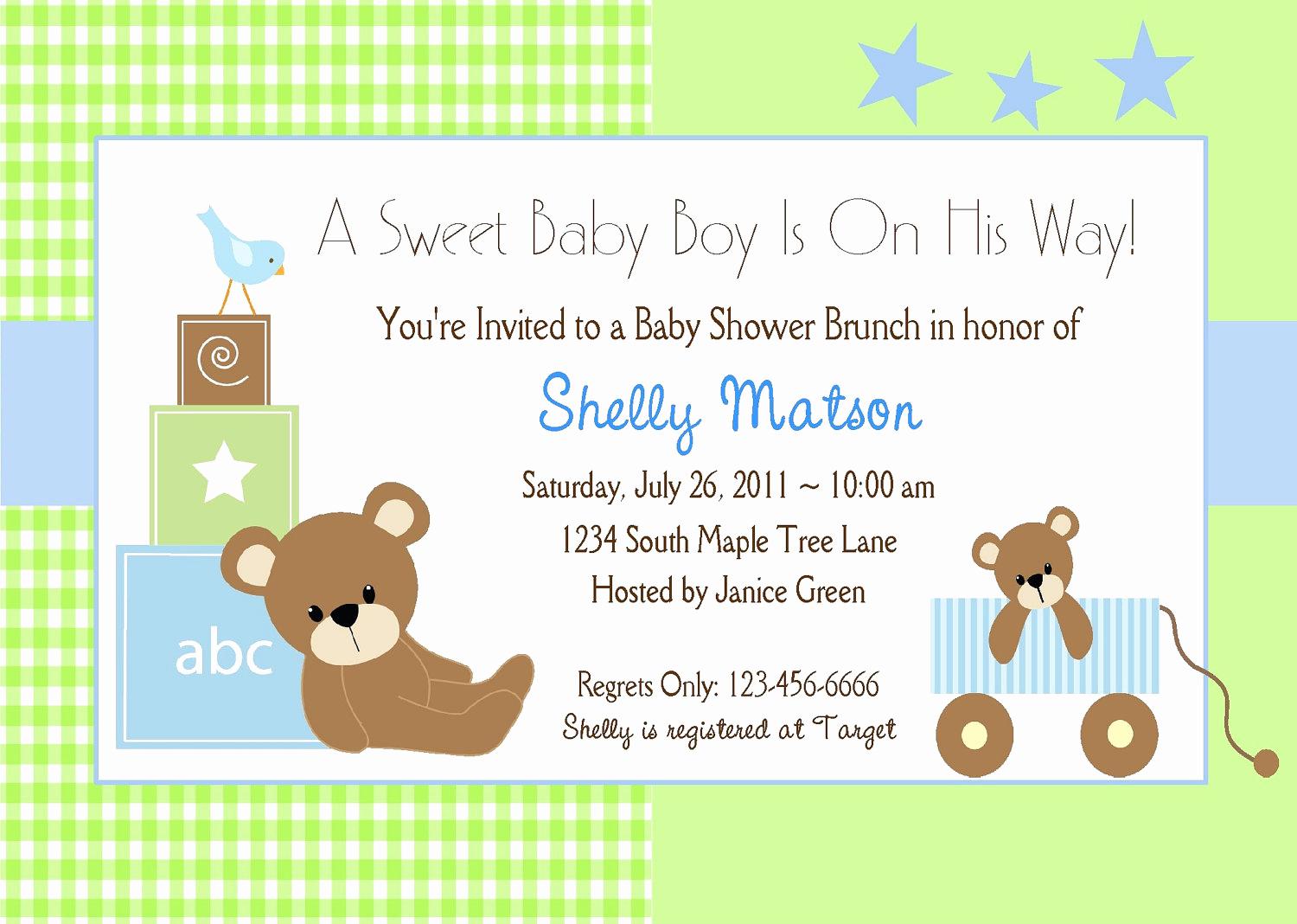 Baby Shower Invitation Examples Luxury Free Baby Boy Shower Invitations Templates Baby Boy