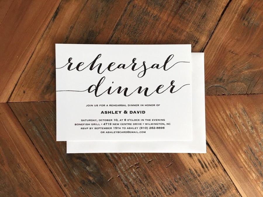 Baby Shower Invitation Font Inspirational Modern Calligraphy Style Font Rehearsal Dinner Invitation