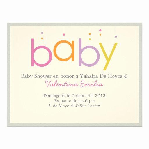 Baby Shower Invitation Font Luxury Baby Shower Invitation