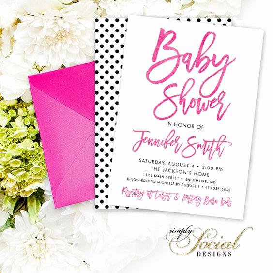 Baby Shower Invitation Fonts Unique Script Calligraphy Font Baby Shower Invitation Modern