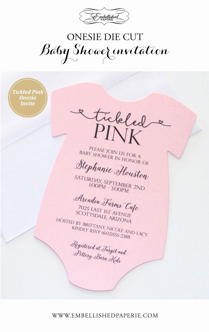 Baby Shower Invitation for Girl New 25 Best Ideas About Baby Girl Invitations On Pinterest