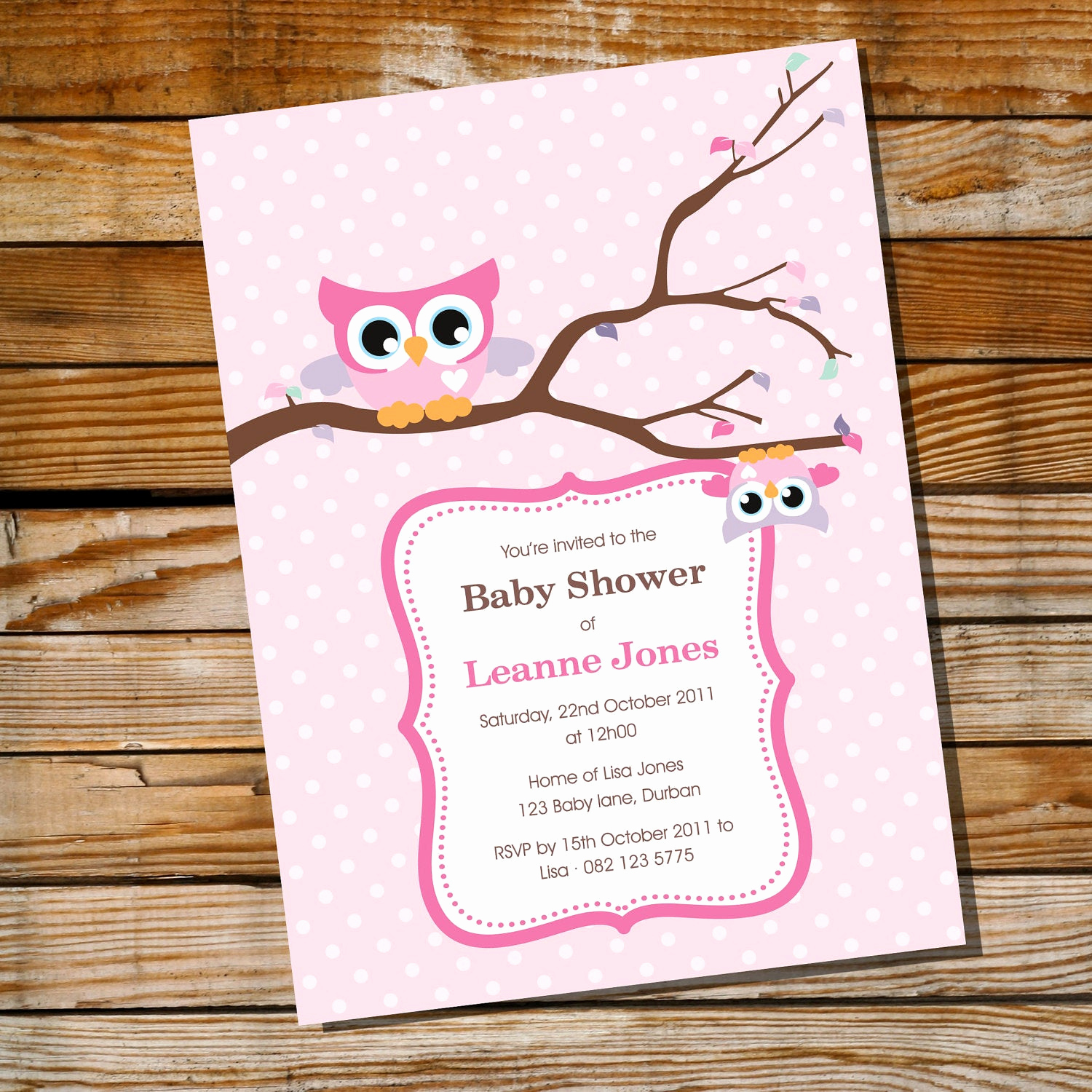 Baby Shower Invitation for Girls Luxury Cute Baby Owl Invitation for A Girl Baby Shower Instantly
