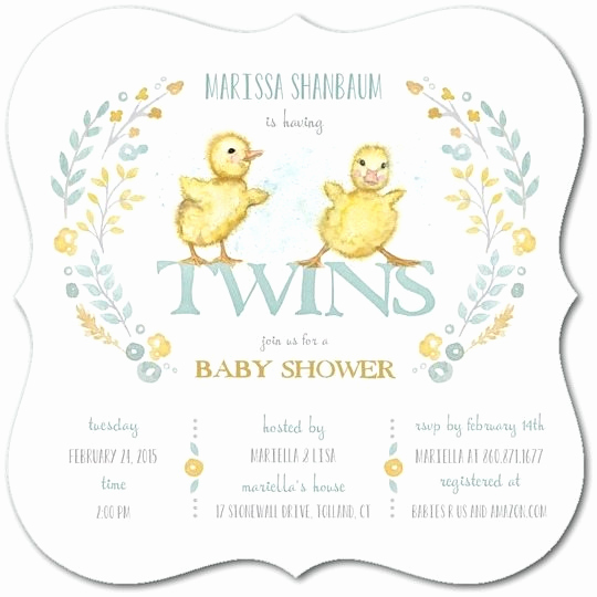 Baby Shower Invitation for Twins Elegant the Best Twins Baby Shower Invites Twiniversity