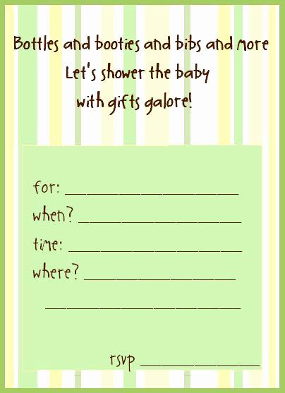 Baby Shower Invitation Free Printable Fresh Free Printable Baby Shower Invitations