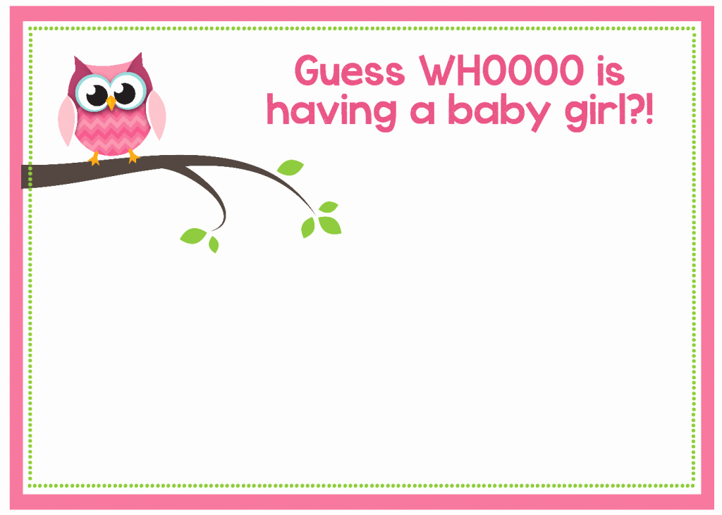 Baby Shower Invitation Free Printable Luxury Free Printable Owl Baby Shower Invitations & Other