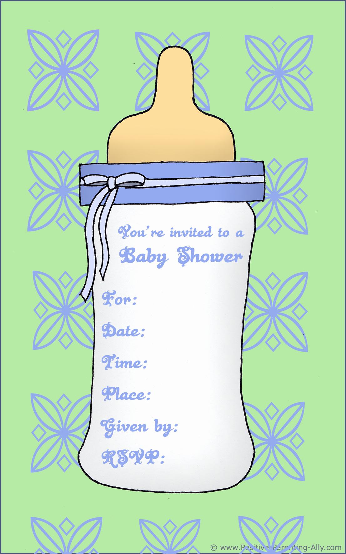 Baby Shower Invitation Free Printable New Free Printable Baby Shower Invitations In High Quality