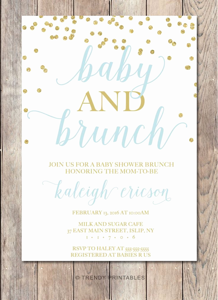Baby Shower Invitation Ideas Best Of Best 25 Brunch Invitations Ideas On Pinterest