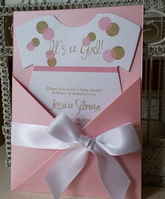 Baby Shower Invitation Ideas Girl Beautiful Unique Baby Shower Invitations 2015 It S A Girl