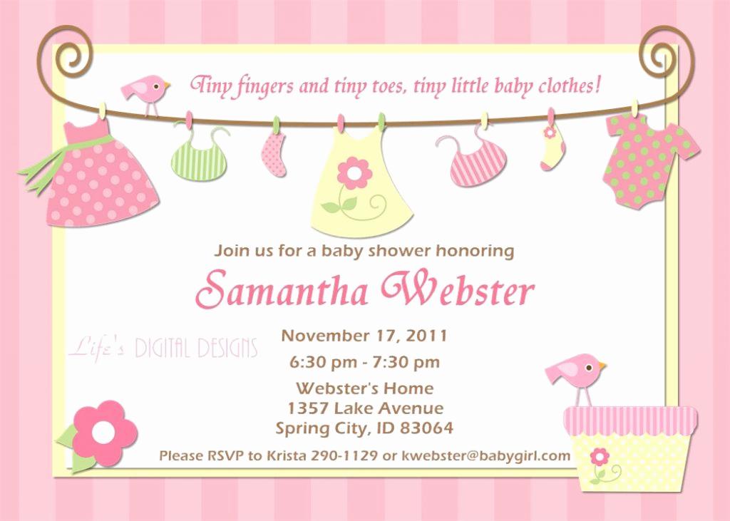 Baby Shower Invitation Ideas Girl Elegant top 10 Baby Shower Invitations original for Boys and Girls