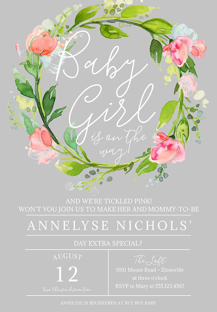 Baby Shower Invitation Ideas Girl Fresh 22 Baby Shower Invitation Wording Ideas