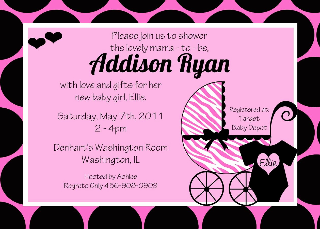 Baby Shower Invitation Ideas Girl Luxury How to Choose Girl Baby Shower Invitation