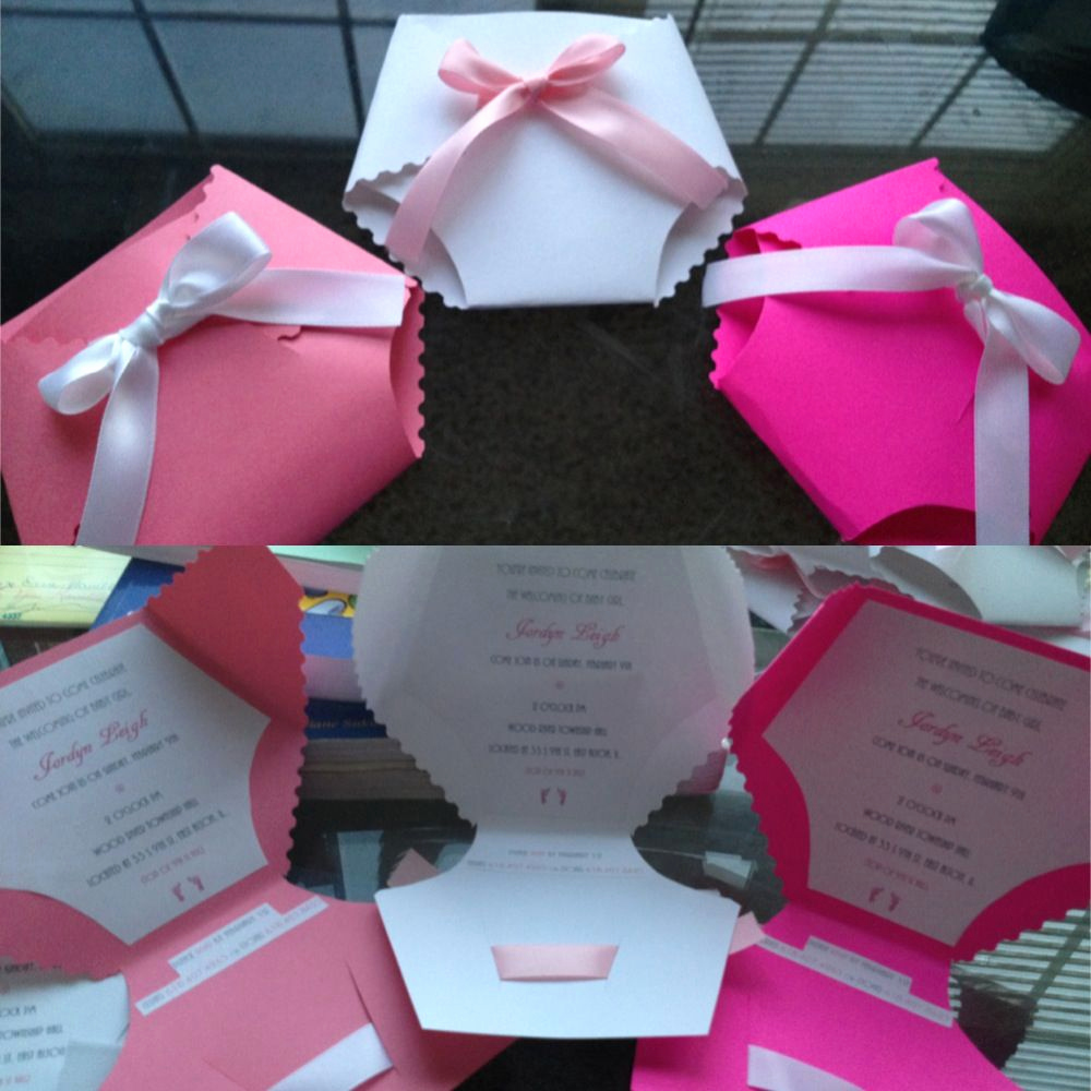 Baby Shower Invitation Ideas Homemade Fresh My Homemade Baby Shower Invitations Cute and Fun to Make