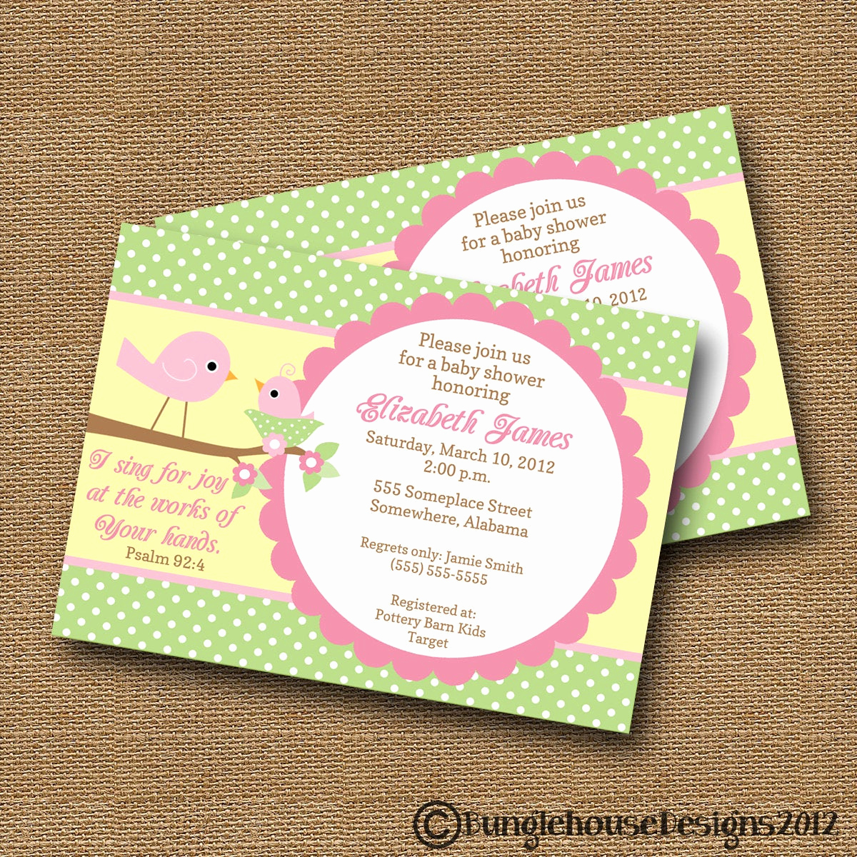 Baby Shower Invitation Ideas Homemade Inspirational Bird Baby Shower Invitation Diy Printable Baby Girl Christian
