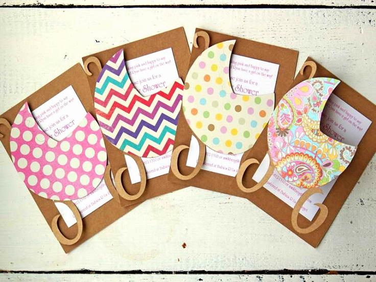 Baby Shower Invitation Ideas Homemade Luxury top 10 Creative Diy Baby Shower Invitation Ideas