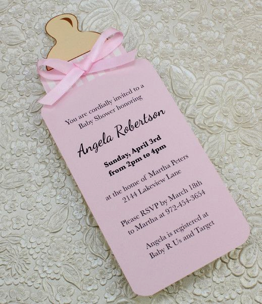 Baby Shower Invitation Ideas Homemade New 25 Best Ideas About Baby Shower Invitations On Pinterest