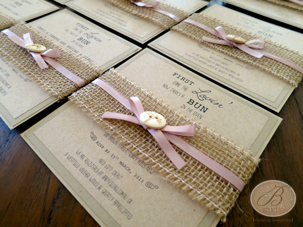Baby Shower Invitation Ideas Homemade New Invitation Trends – B Studio Wedding Invitations Style Blog