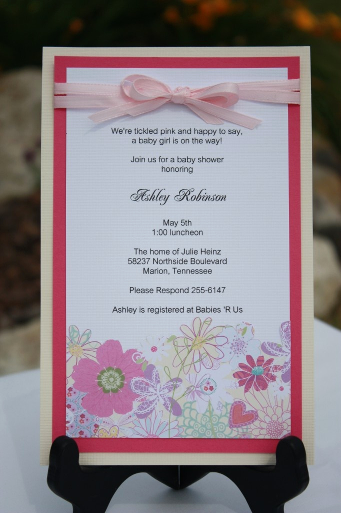 Baby Shower Invitation Ideas Homemade Unique 27 Best Baptism Preview Images On Pinterest