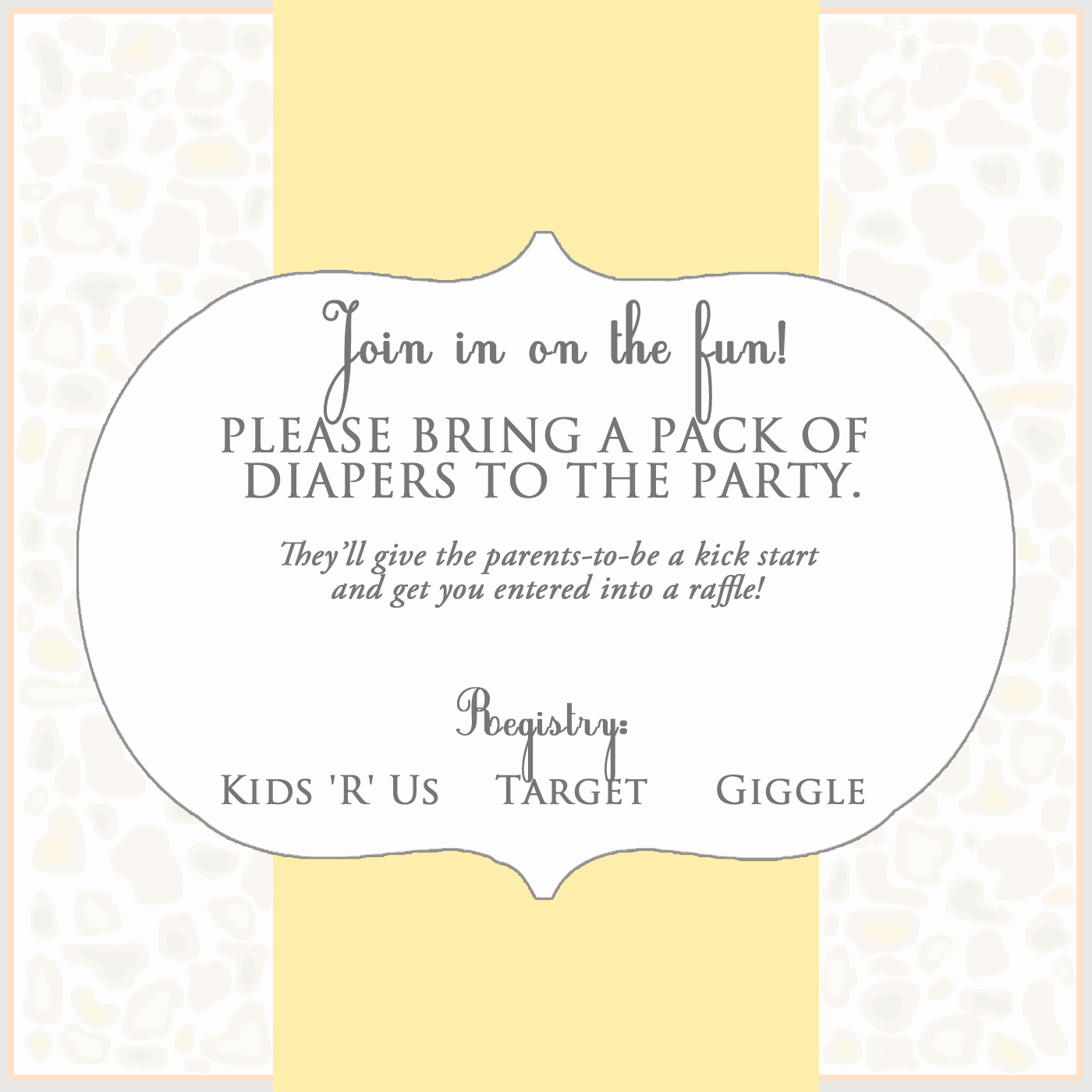 Baby Shower Invitation Inserts Fresh 301 Moved Permanently