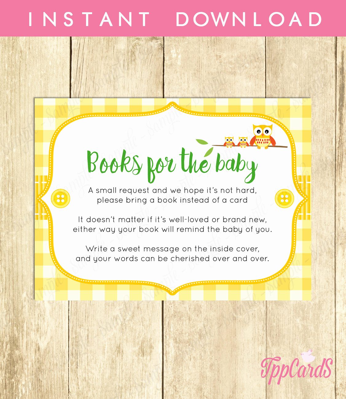 Baby Shower Invitation Inserts Lovely Bring A Book Baby Shower Invitation Insert Instead Of A Card