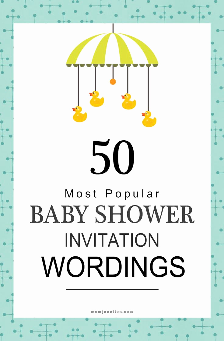 Baby Shower Invitation Message Beautiful 25 Best Ideas About Baby Shower Invitations On Pinterest