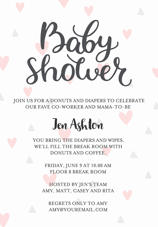 Baby Shower Invitation Message Luxury Baby Shower Gift Registry Invitation Wording