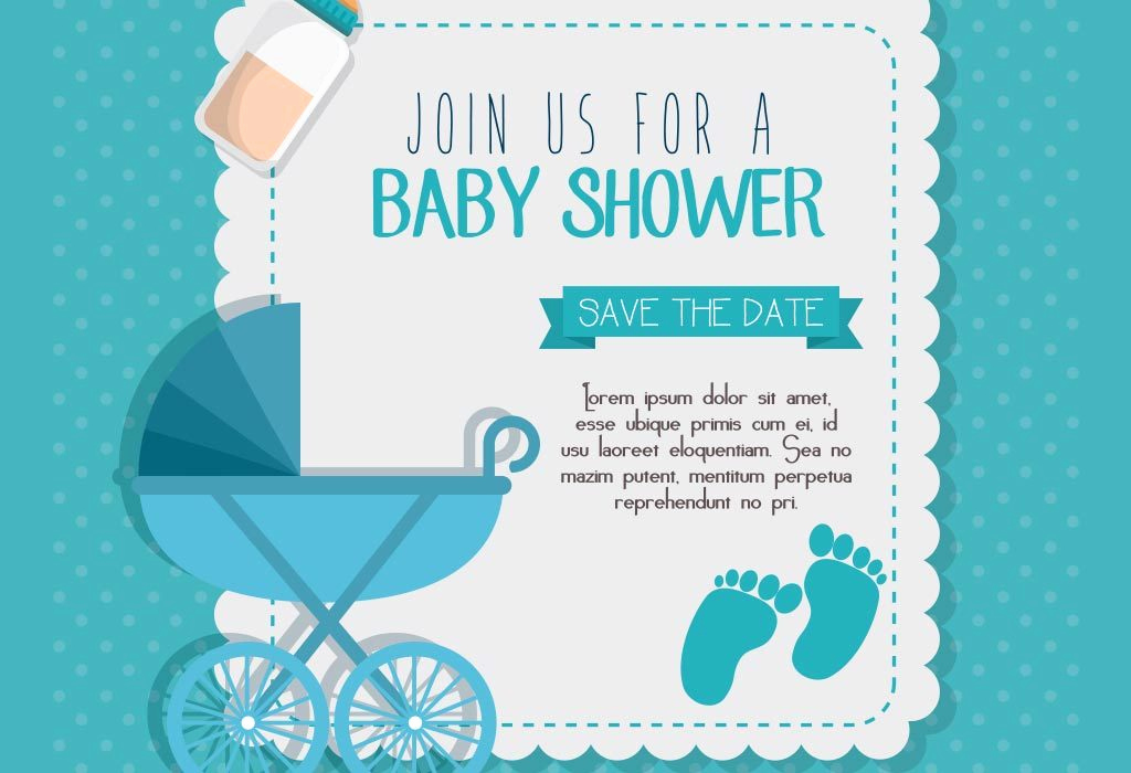 Baby Shower Invitation Message New Sample Baby Shower Invite for Baby Boy
